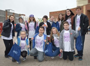 Zinc Arts' Kindness Flashmob bring smiles to Southend