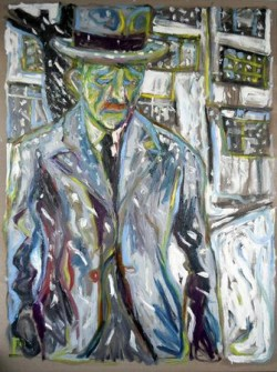 Review: Billy Childish - Unknowable but Certain at the ICA, London