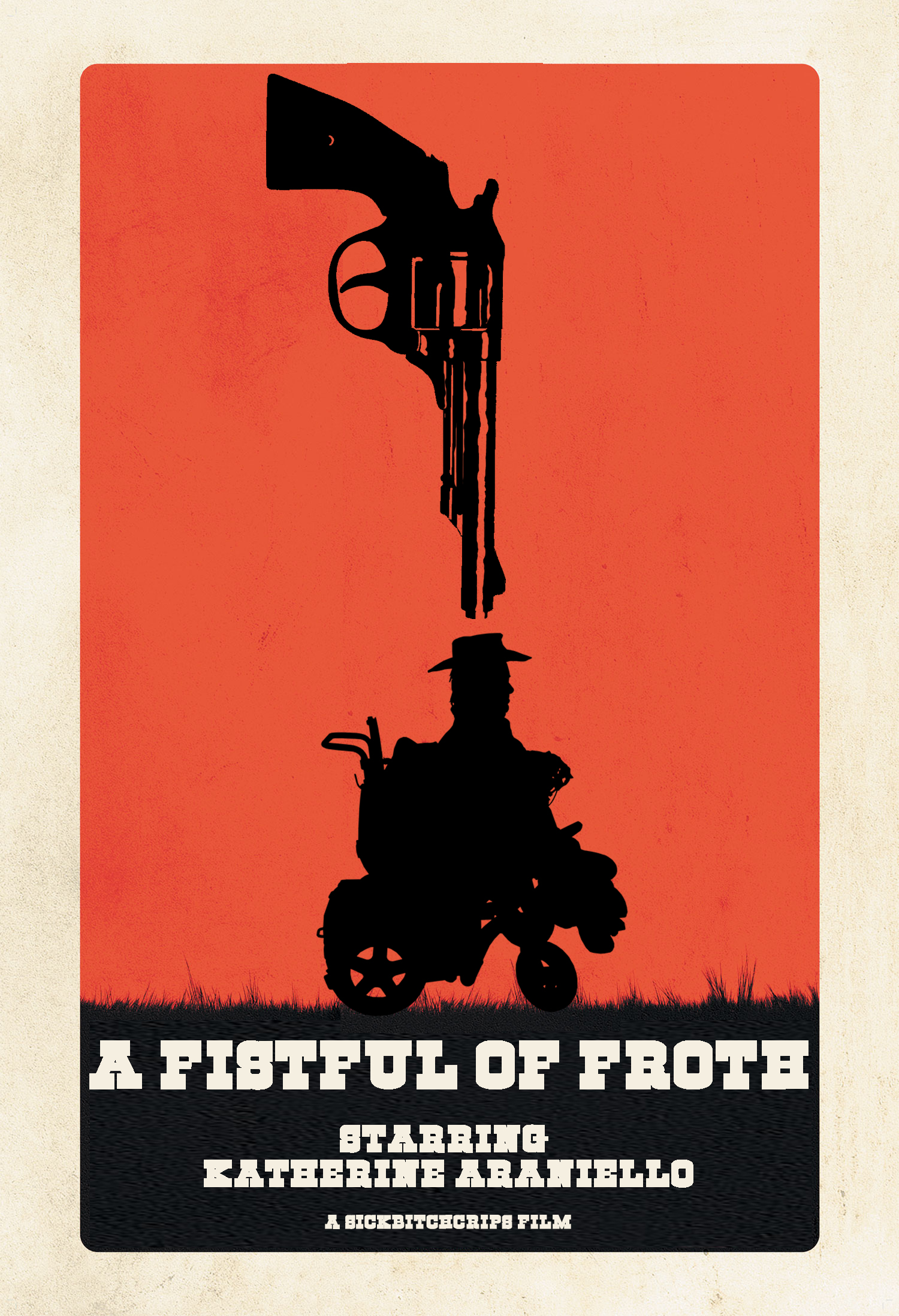a western poster-style image